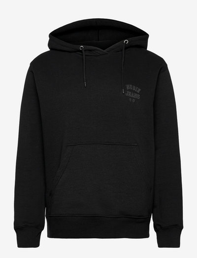 Franke Logo Hoodie - bluzy z kapturem - black
