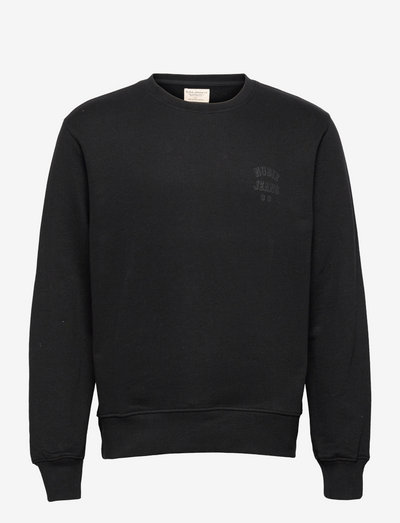 Frasse Logo Sweatshirt Black - swetry - black