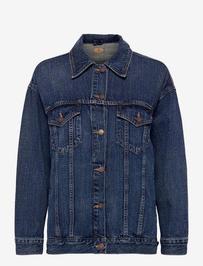 Elin - jeansjakker - blue maze