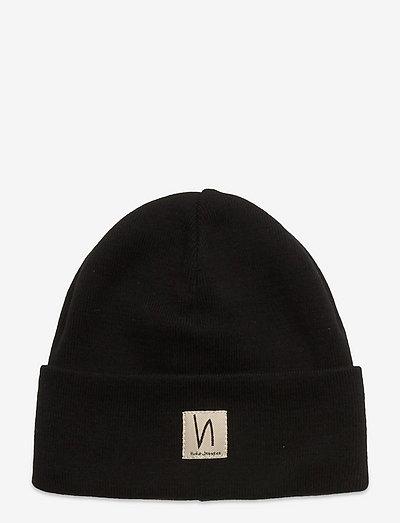 Falksson Beanie - czapki i kapelusze - black