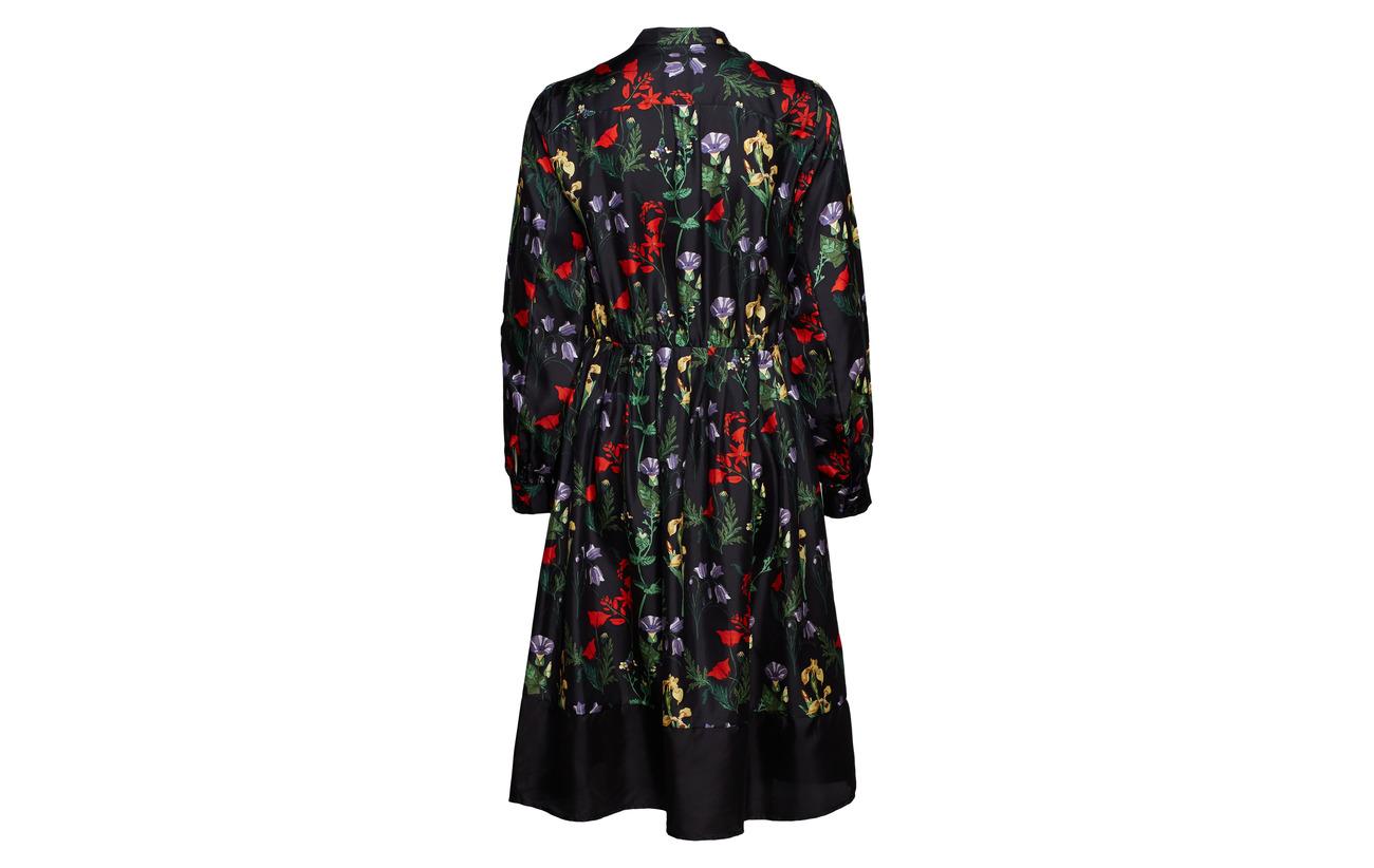 Dress 100 Black Notes Maxim Twill Soie Nué EWqfanAHq