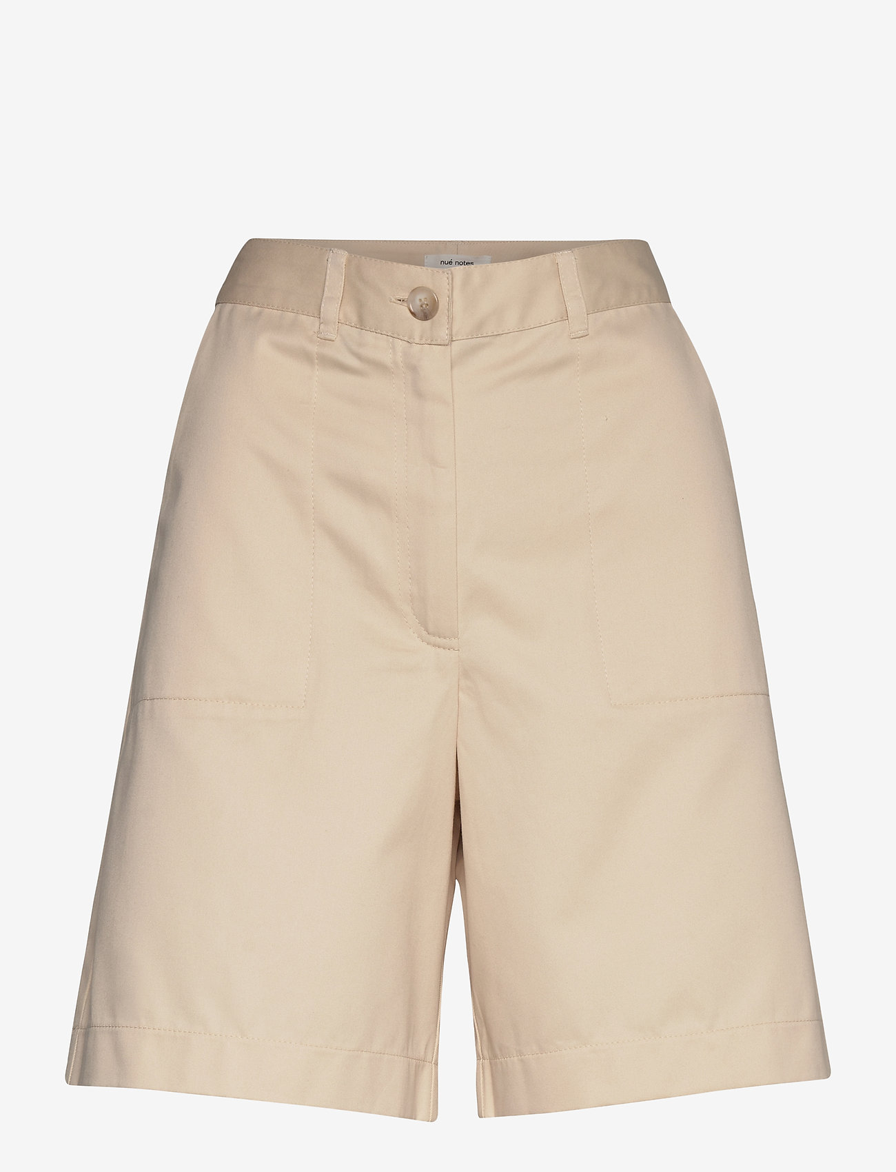 nué notes - Elton Pant - chino shorts - cloud cream - 0