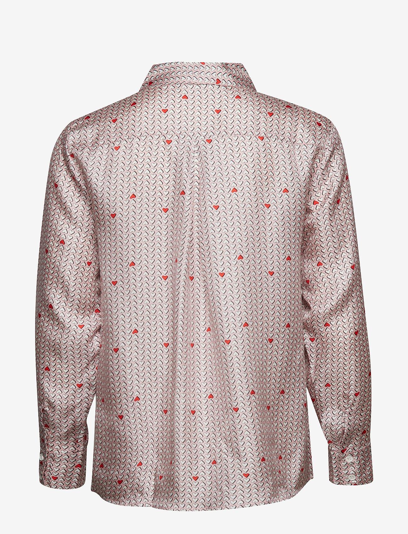 nué notes - Rosie Shirt - long-sleeved shirts - coral blush