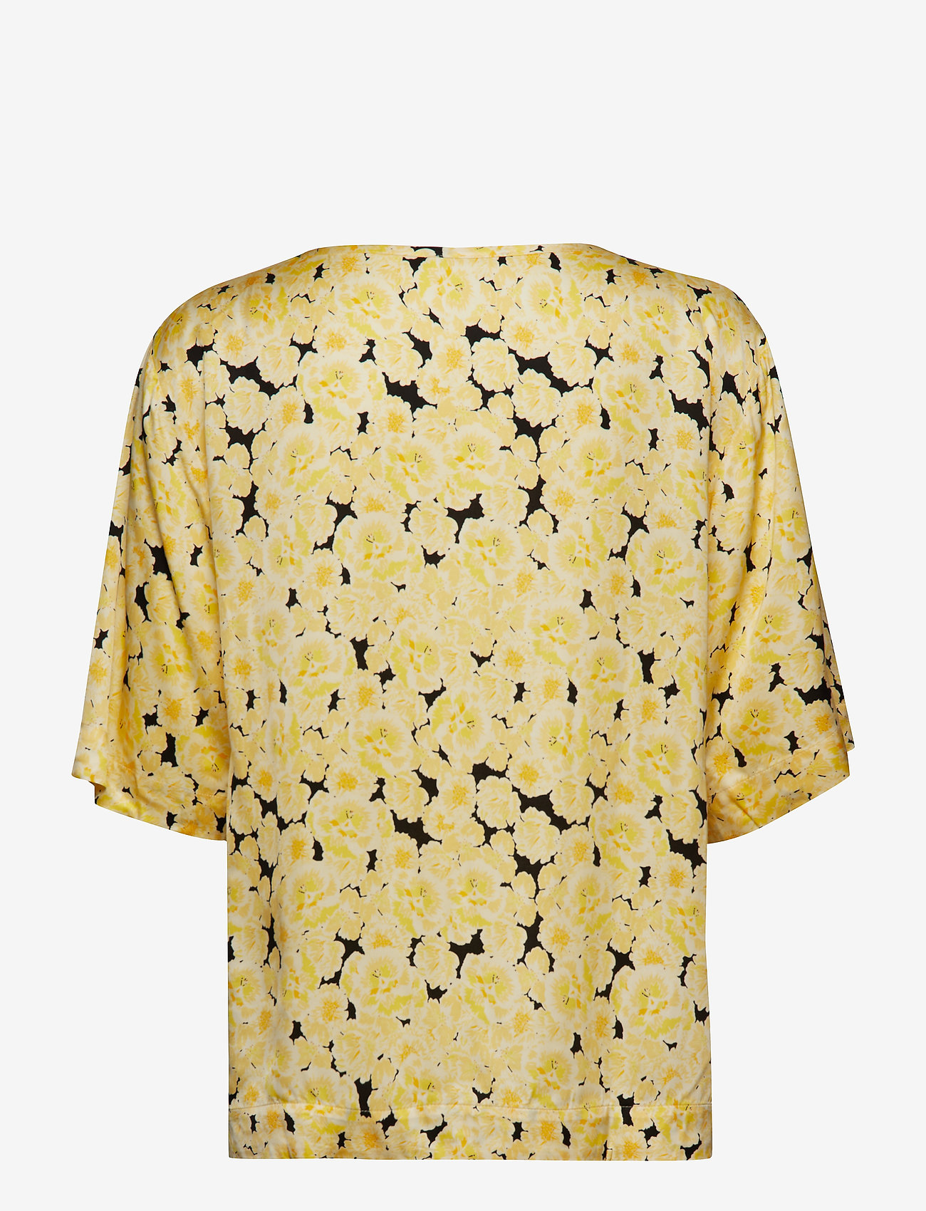 nué notes - Ellen T-Shirt - short-sleeved blouses - yellow cream