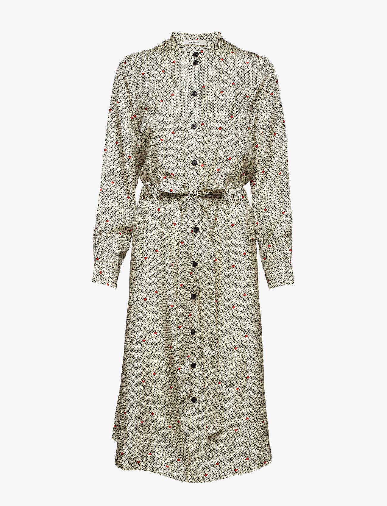 nué notes - Bea Dress - shirt dresses - cloud cream