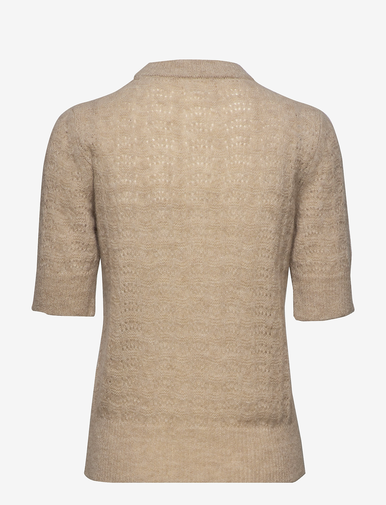 nué notes - Veneda Pullover - knitted tops & t-shirts - oatmeal - 1