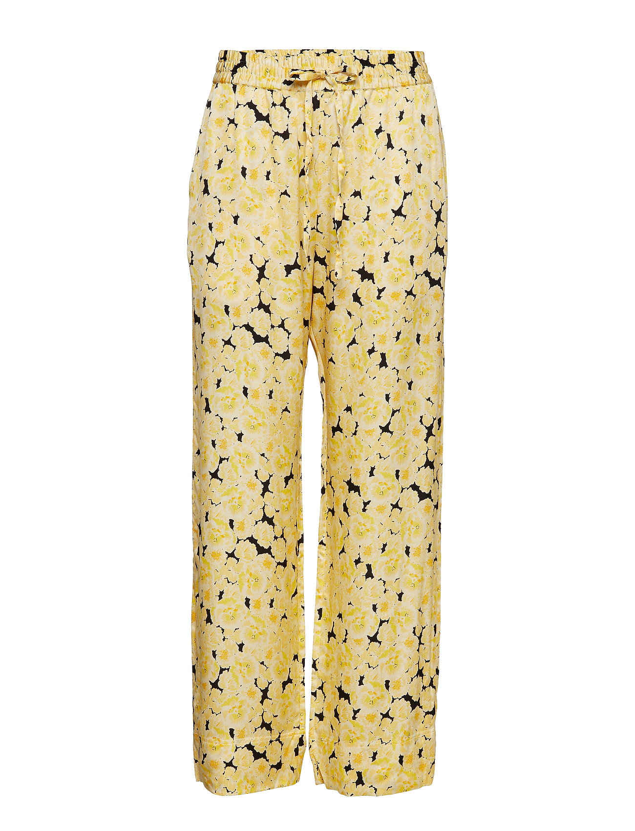 nué notes Carola Pant - YELLOW CREAM