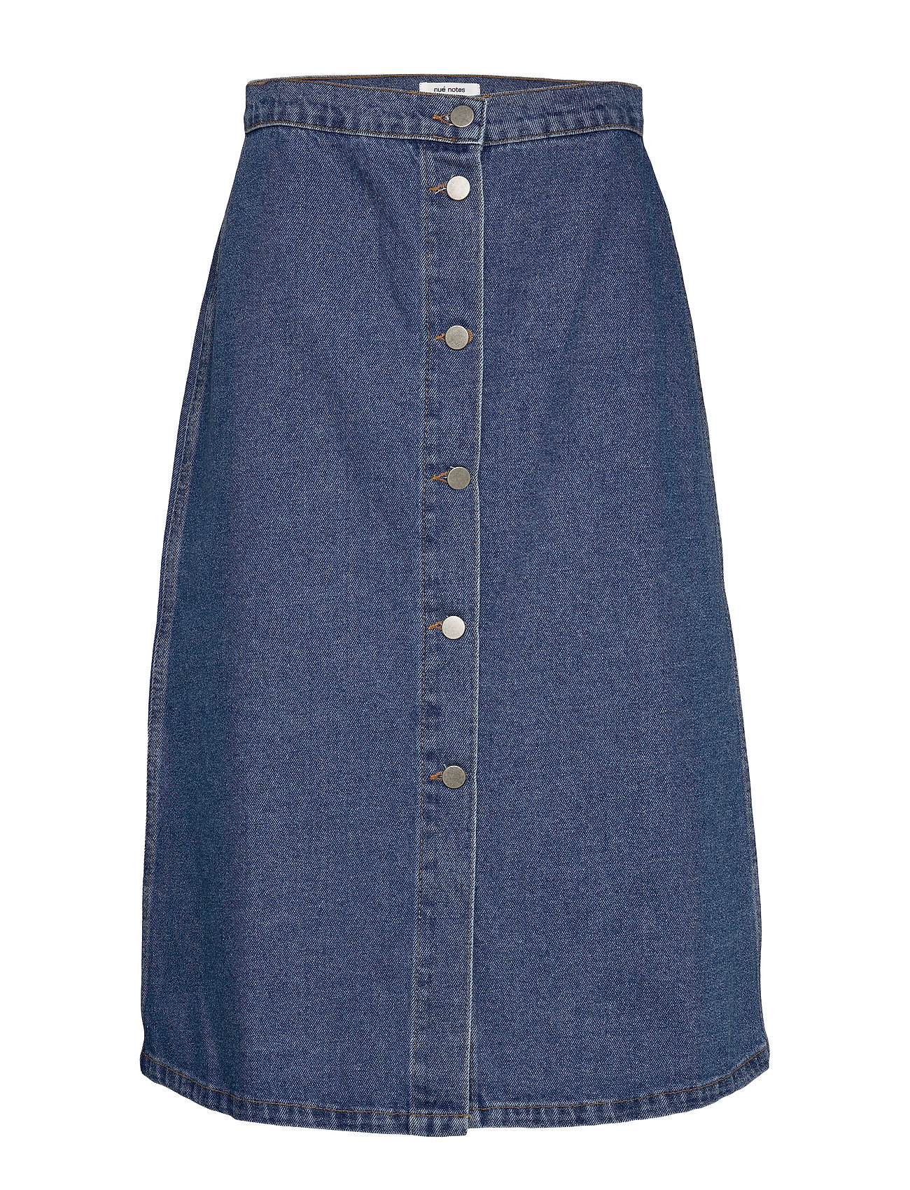 nué notes Elissa Skirt - DARK DENIM