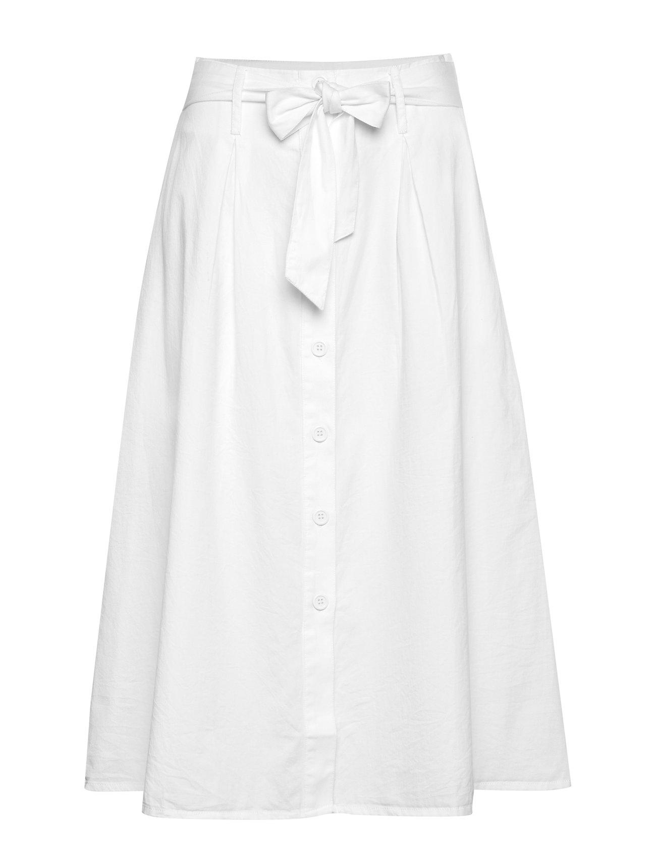 nué notes Geneve Skirt - WHITE