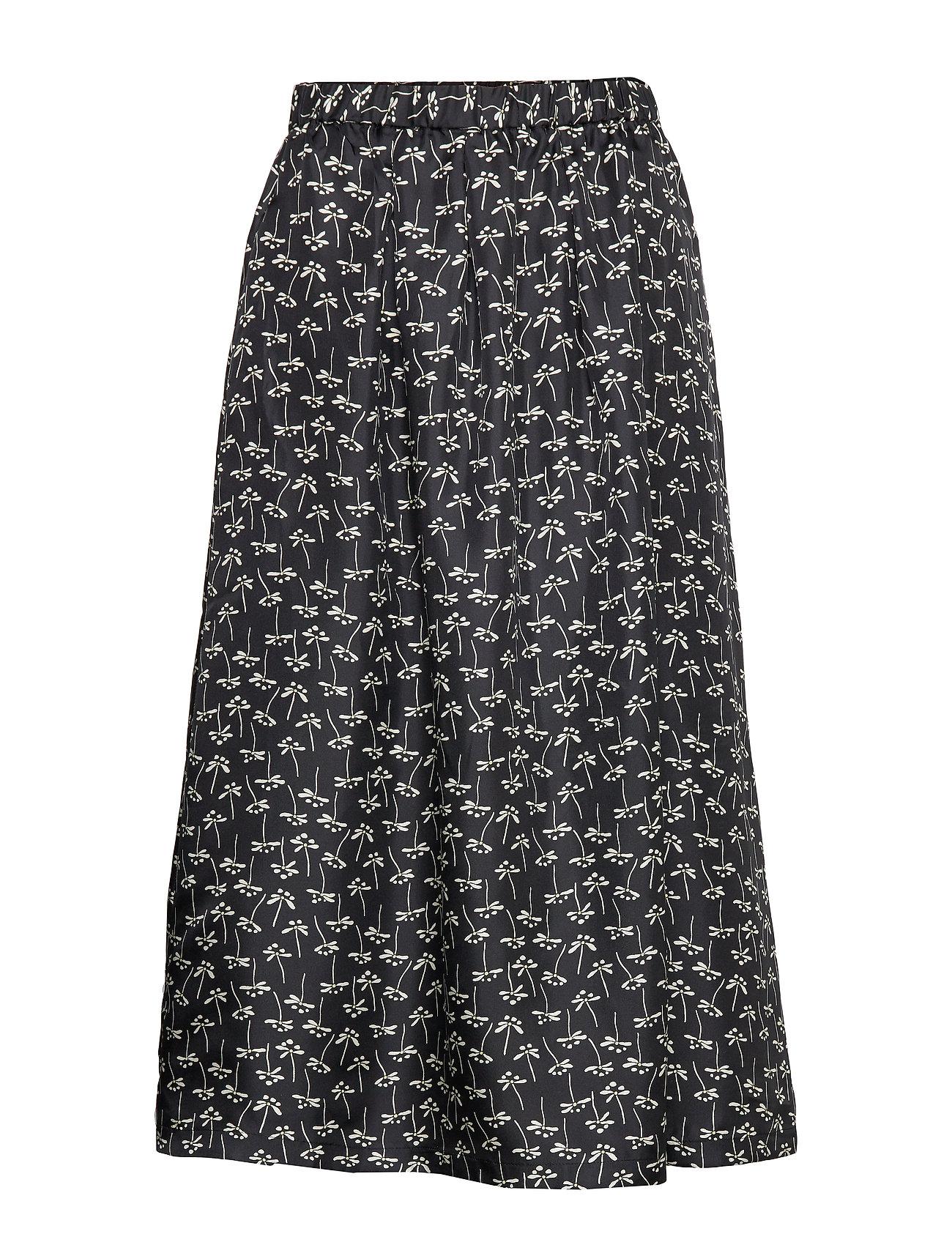 nué notes Doma Skirt - BLACK