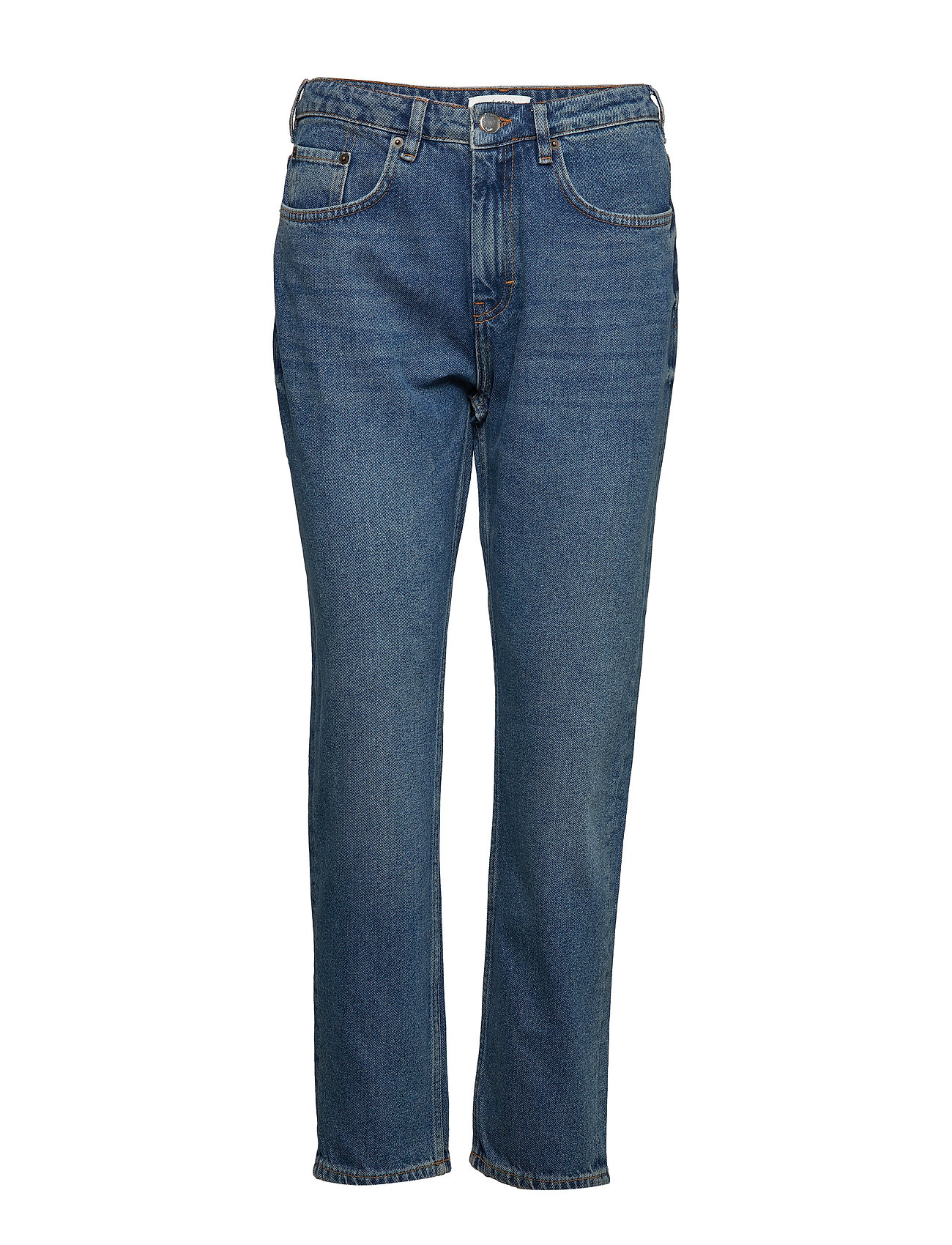 nué notes Stinna Jeans - HEAVY WASHED DENIM