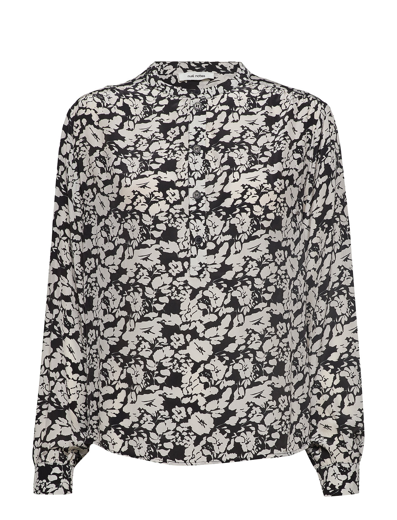 nué notes Betty Shirt - BLACK