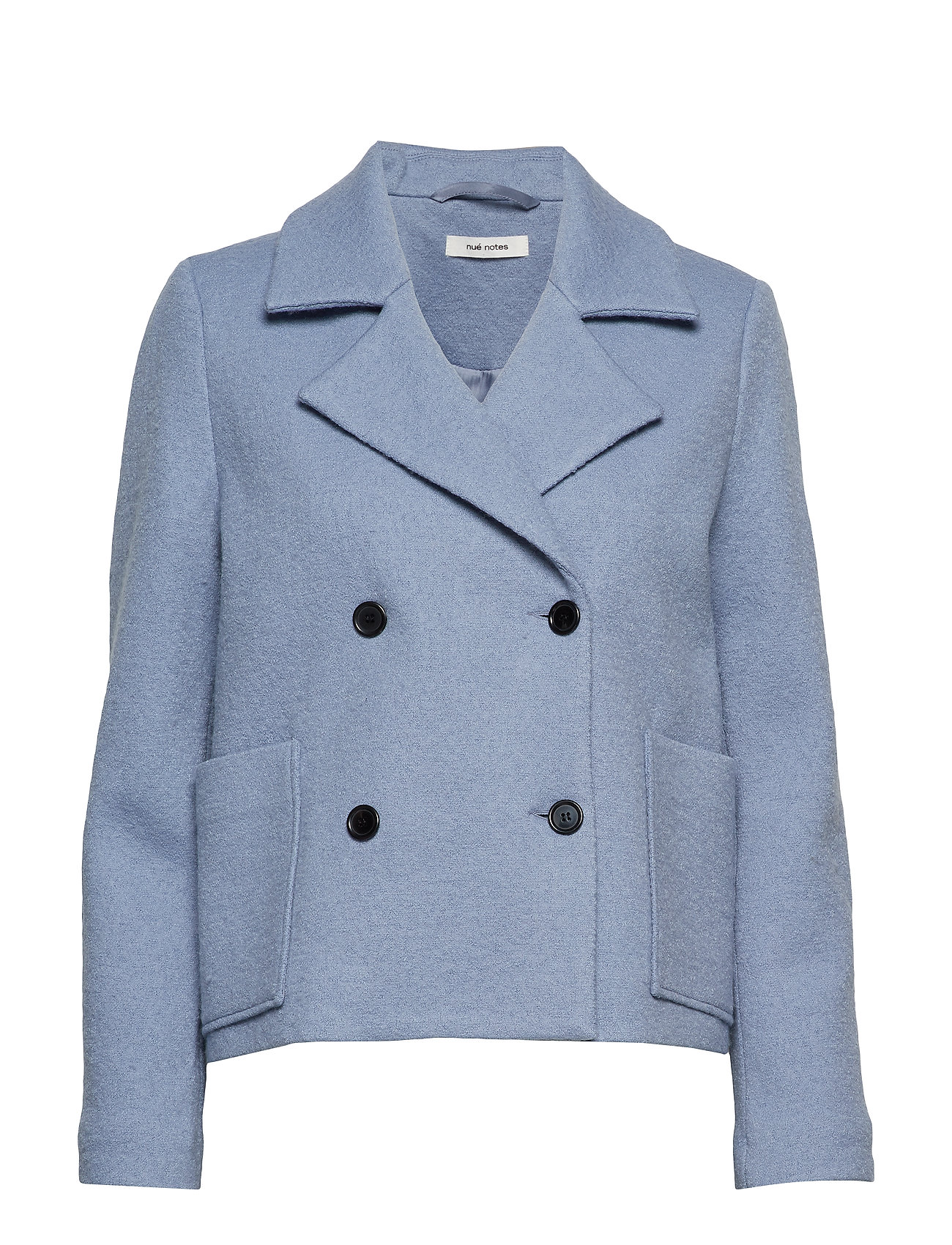 nué notes Frank Coat - DUSTY BLUE
