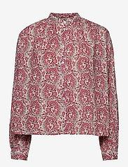 nué notes - Aline Shirt - chemises à manches longues - coral blush - 0