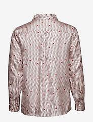 nué notes - Rosie Shirt - long-sleeved shirts - coral blush - 1