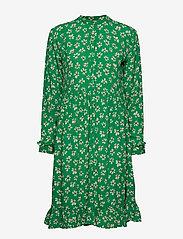 nué notes - Maia Dress - robes midi - leprechaun green - 0