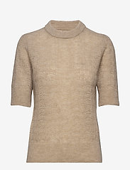 nué notes - Veneda Pullover - knitted tops & t-shirts - oatmeal - 0