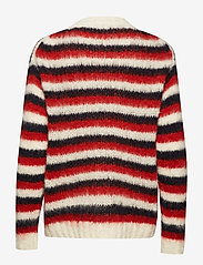 nué notes - KAYA PULLOVER - neulepuserot - racing red - 1