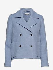nué notes - Frank Coat - wełniane kurtki - dusty blue - 0