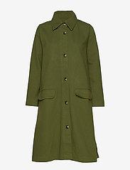nué notes - Sissa Jacket - cienkie płaszcze - army - 0