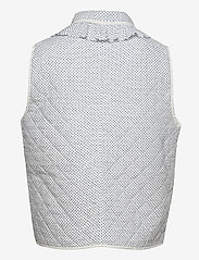 nué notes - Carly Vest - puffer vests - bijoo blue - 1