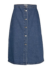 Elissa Skirt - DARK DENIM