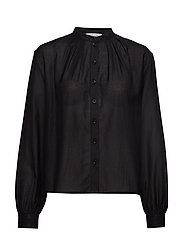 nué notes Aline Shirt - BLACK
