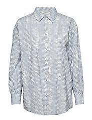 Malou Shirt - POWDER BLUE