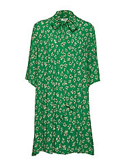nué notes Penny Dress - LEPRECHAUN GREEN
