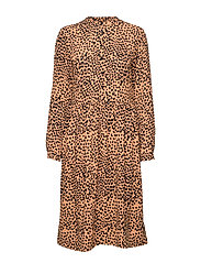 Mila Dress - ALMOND