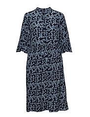 Mila Dress - DUSTY BLUE
