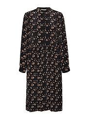 nué notes Mila Dress - BLACK