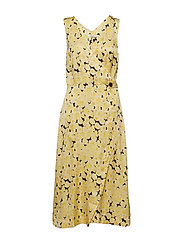 Penelope Dress - YELLOW CREAM