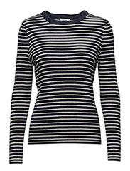 Ivanka R-neck pullover - NAVY