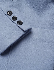 nué notes - Frank Coat - wełniane kurtki - dusty blue - 3