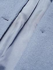 nué notes - Frank Coat - wełniane kurtki - dusty blue - 4