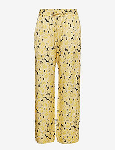 Carola Pant - YELLOW CREAM