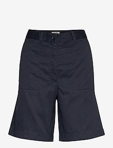 Elton Pant - chino shorts - dark navy