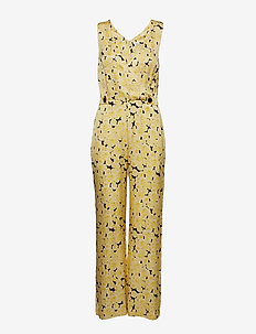Sandy Jumpsuit - YELLOW CREAM