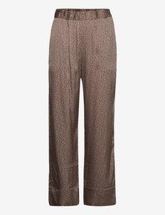 Anker Pants - broeken med straight ben - chocolate chip