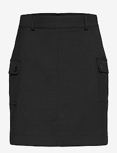 Porsha Skirt - pencil skirts - black