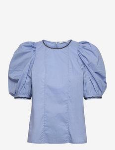 Pau Blouse - blouses met korte mouwen - eventide