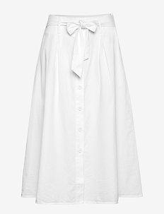 Geneve Skirt - WHITE