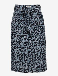 Zurich Skirt - DUSTY BLUE