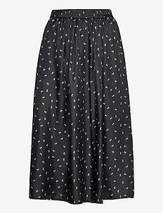 Doma Skirt - midi rokken - black