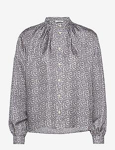 Aline Shirt - blouses med lange mouwen - eventide