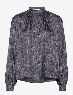 Aline Shirt - blouses med lange mouwen - total eclipse