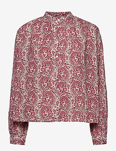 Aline Shirt - long-sleeved shirts - coral blush