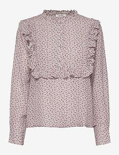 Jacqueline Shirt - blouses med lange mouwen - lilac marble