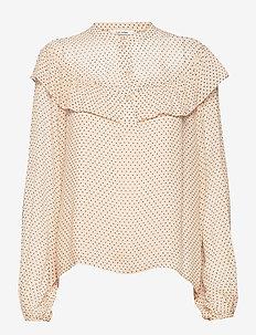 Roxana Shirt - langärmlige blusen - sheepskin